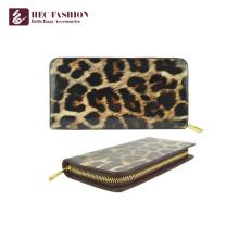 HEC Luxe Design Longue Zipper Grande Capacité Femmes Cash Wallet