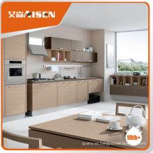 Muebles de madera vendedores calientes del gabinete de cocina