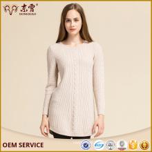 Оптовая Европа Стиль Пуловер Узором Knittng Длинные Свитера Платье Из Китая Фабрики