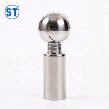 Stainless Steel Sanitary Butt Welded Rotary Cleaning Ball