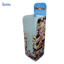4C que imprime a cremalheira de exposição reciclável feita sob encomenda do guarda-chuva do cartão, exposição do cartão do guarda-chuva para o supermercado