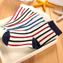 Estilos clásicos niños calcetines de algodón de rayas