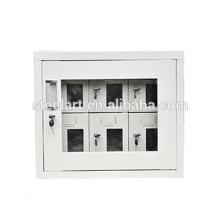 6 porta pequena telefone celular carga celular armário de metal