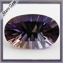 Forma Oval Especial Color Milenium Cut Gemstone