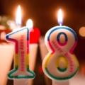 Figur Kerze zum Geburtstag Geburtstagskerze