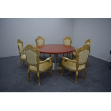 Round catering table and classic chairs XYN1254