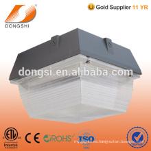 estación de servicio moderna LED luz de techo del pabellón