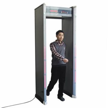 6-зонная высокая чувствительность проходит через металлоискатель