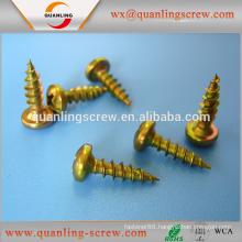 Alibaba china wholesale flat head black electrophoresis chipboard screw