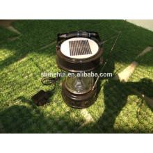 Llevó la linterna solar con el cargador del teléfono móvil silicio policristalino de la eficacia alta