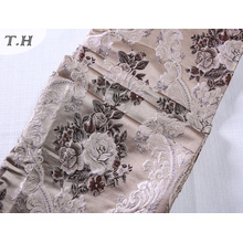 100% tela de tejido de poliéster para Jacquard Diseños de sofá de tela (FTH32084)