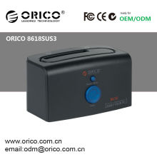2.5&3.5inch SATA hdd docking station with USB3.0 high speed interface and Clone function