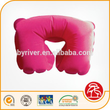Розовый надувные стекались Бич/прыжки/воды/путешествие шею подушку