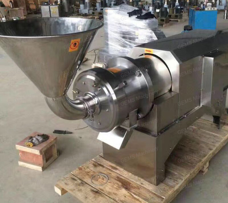 Horizontal Cocoa Bean Grinder Grinding Machine