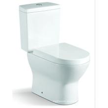 Artículos sanitarios Cuarto de baño de cerámica de dos piezas de baño (6824)