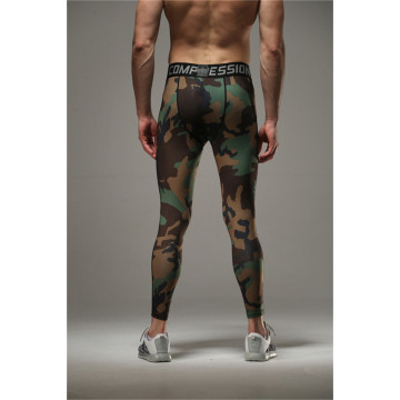 Nouveaux collants hommes Camo Camouflage sec Fit Compression Pants