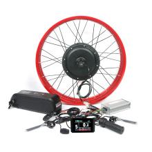 48v 1000w 1500w 2000w 26*4.0 inch electric bicycle fat tire e bike motor conversion kit