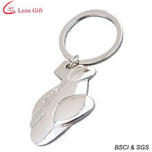 Wholesale Alloy Blank Airplane Keychain for Gift (LM1309)