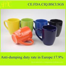 Экологичная керамическая кружка в разных цветах