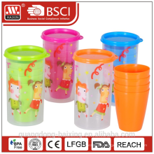 Becher set 0,4 L w/4 Pcs Tassen