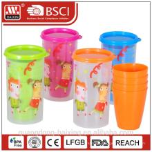 Cup set 0.4L w/4 pcs cups
