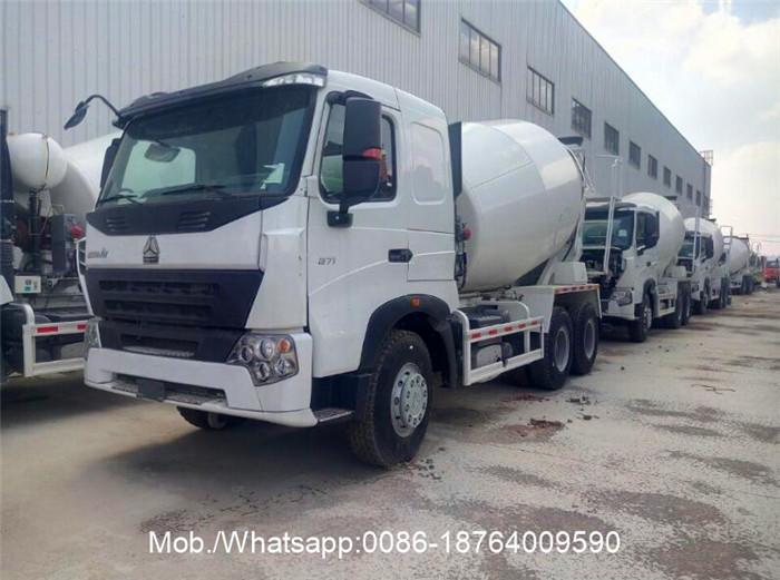 HOWO A7 Concrete Mixer Truck
