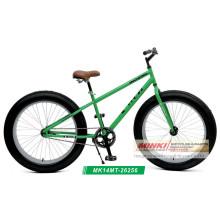 Bicicleta de montaña Fat Boy de cuadro de acero