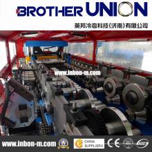 Alta velocidad de alta calidad de alta eficiencia de tipo de remolque Roll formando la máquina