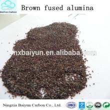 Abrasive brown fused alumina/aluminium oxide powder for sand blasting