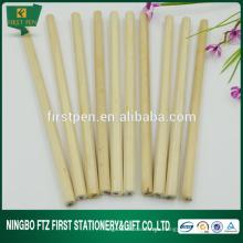 Шестигранный / круглый дешевый пустой деревянный карандаш