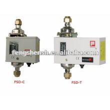 refrigerator differential pressure control