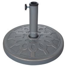 Schöne Runde Patio 13KGS Polyresin Umbrella Base