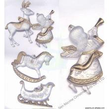 Kunststoff dekorative Weihnachten Ornament Acryl klar, Weihnachtsdekoration