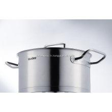 Marmite professionnelle d'ustensiles de cuisine de haute qualité