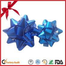 Matte Metallic Handicraft Decoration Star Bow Crafts