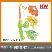Brinquedo plástico magnético brinquedo de pesca Toy Kid Jogo Interativo