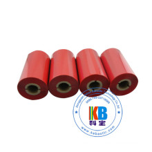 China manufacturer wax resin material red ribbon