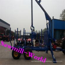 Bosque equipo Tractor Remolque de madera