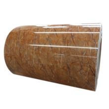colors ppgi marble grain coated steel sheet