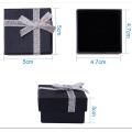 Boîte d'emballage de bijoux multicolore spéciale pour boucles d'oreilles