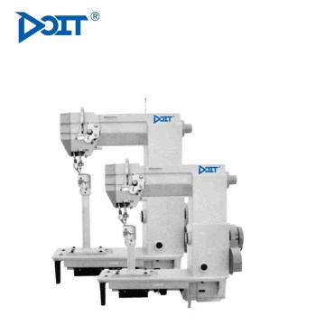 DT 998CRS Máquina de coser de cuero para el lado derecho de la cama de poste de aguja simple (alimentación de rodillo con un pequeño gancho)