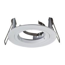 Plafonnier LED en aluminium moulé sous pression rond 70 / 80mm