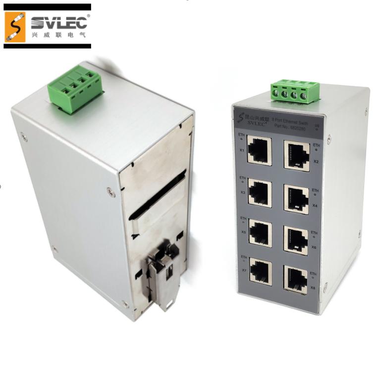 Ethernet Switch RJ45 Entries