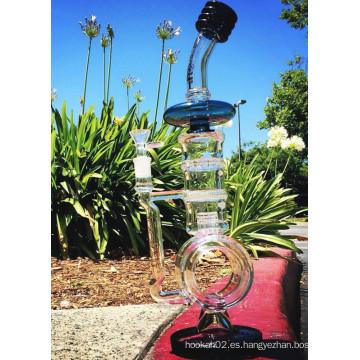 2016 Nueva pipa de agua de vidrio para fumar del nuevo Birdcage de percusión del diseño