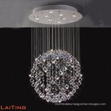 European style metal chandelier,antique silver waterfall crystal chandelier light 92041