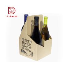 Oem neueste dekorative Wellpappe Wein Geschenkbox