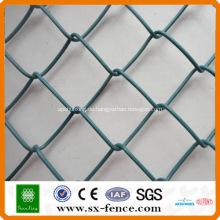 Galvanisierter und PVC-überzogener Kettenglied-Zaun ISO9001