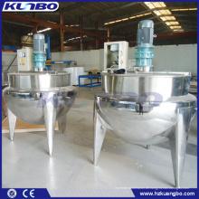 KUNBO 500 Liter Industrial Steam Jacketed Mischkochkessel mit Rührwerk