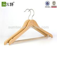 Kundenspezifischer hölzerner Aufhänger für Kleidung