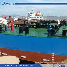 water floating platform for marine building and dredging (USA-2-007)